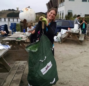 2014 Half Moon Bay Yacht and Pillar Point Harbor Coastal Cleanup