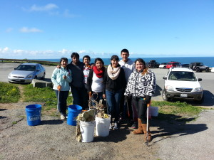 volunteers Catalina Ave