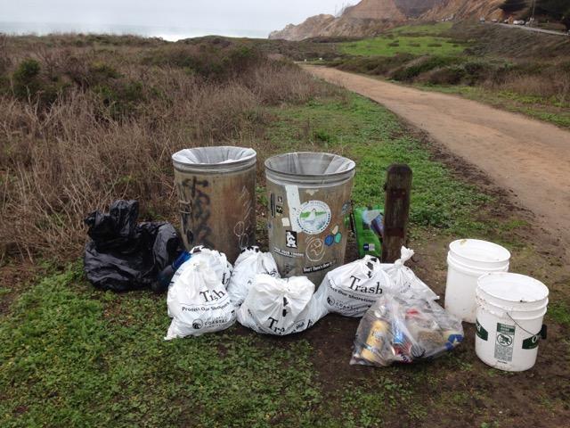 Montara Beach Cleanup 50 lbs