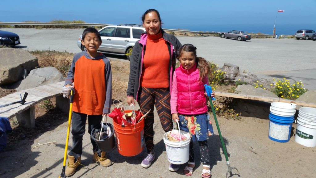 25 June 2016 Cleanup Family of 3