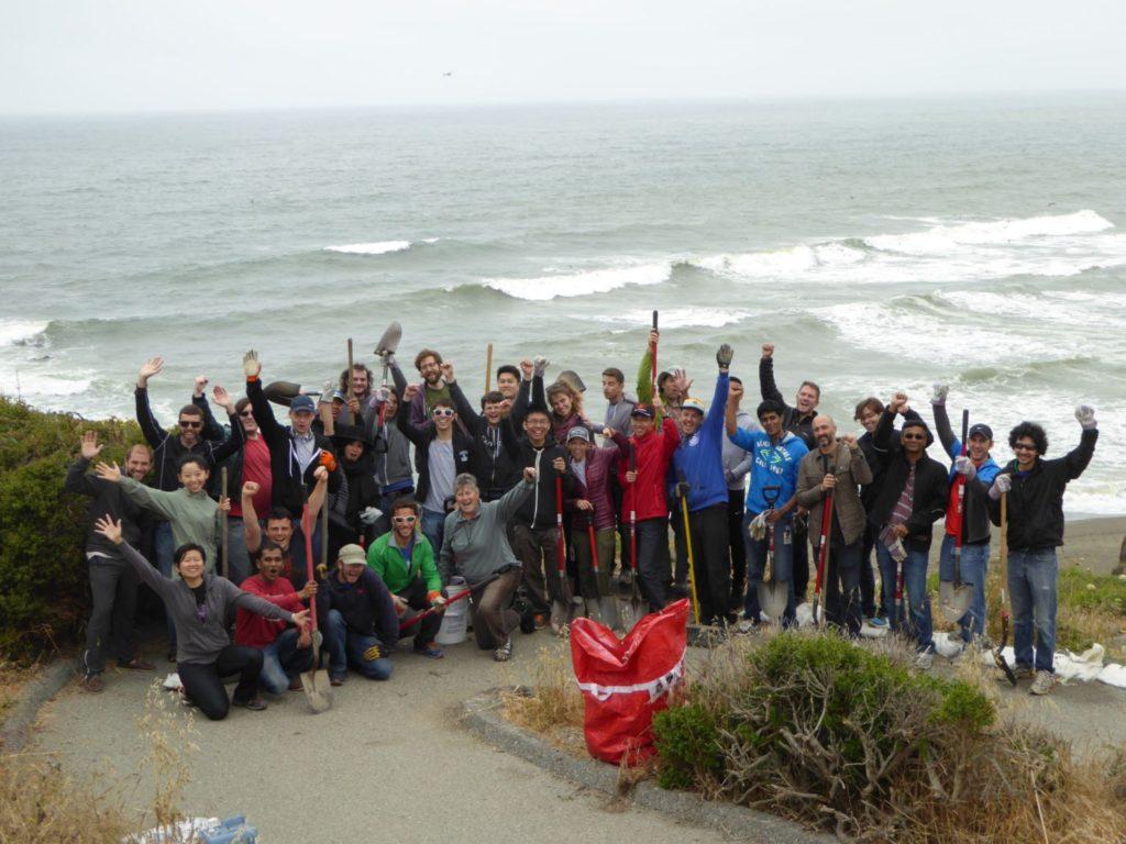 Google Team at Mussel Rock
