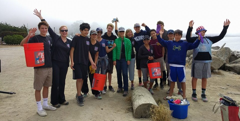 pillar point ymsl beach cleanup