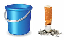 Blue Bucket & Cig. Butts Data Collection