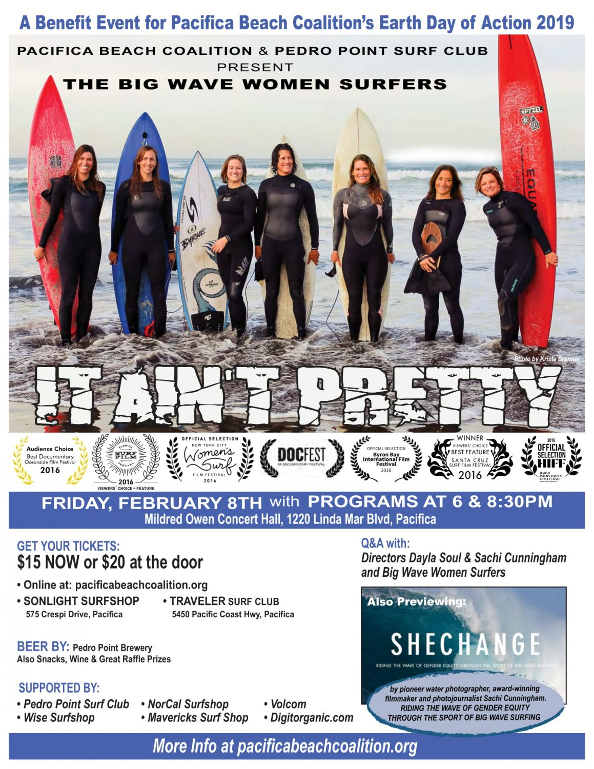 103522b6c5d3 SOLD OUT. Surf Movie Fundraiser Night - Pacific Beach Coalition