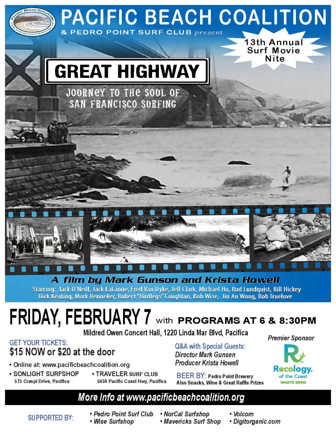 Don't Miss: Annual Surf Movie Night